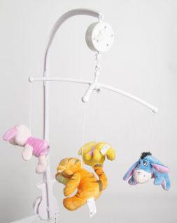 BB Lullaby Musical Crib Stroller Disney Music Mobile Plush Toys