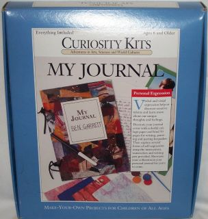 Curiosity Kits MY JOURNAL Create a personal book Make your own Project