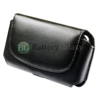 Cell Phone Leather Pouch Case for Cricket US Cellular Samsung Chrono