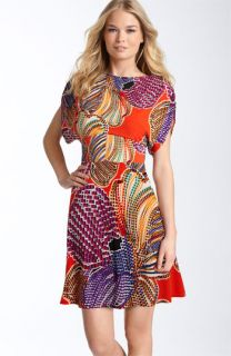Laundry by Shelli Segal Print Matte Jersey Dress