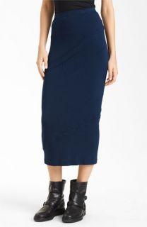 Donna Karan Collection Patchwork Jersey Skirt