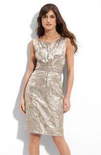 Donna Ricco Brocade Sheath Dress (Plus)