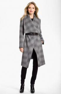 MICHAEL Michael Kors Belted Blanket Coat