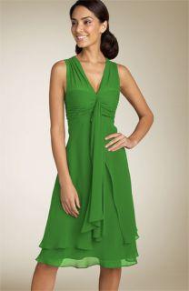 Donna Ricco Silk Georgette Dress