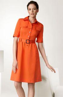 Tory Burch Hanne Silk Piqué Dress