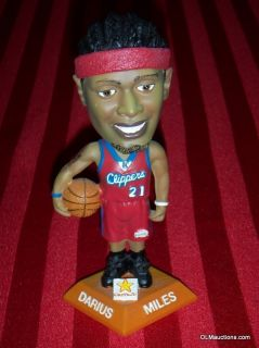 Darius Miles #21 SGA Bobblehead Los Angeles Clippers NBA Basketball