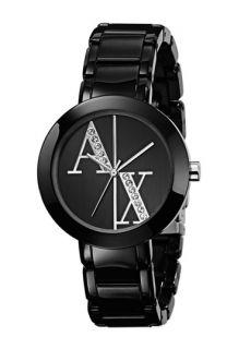 AX Armani Exchange Crystal Logo Bracelet Watch