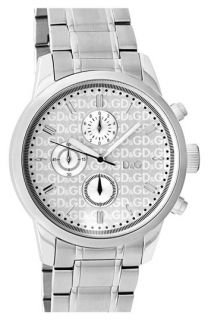 D&G Wine Tote Chronograph Bracelet Watch