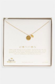 Dogeared Mom Love   Heart Pendant Necklace ( Exclusive)