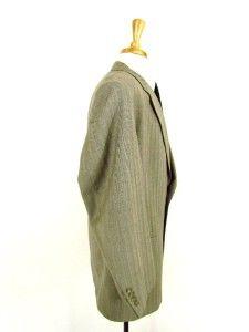 Mens Taupe Daniel Hechter Jacket Blazer Sport Coat Wool 2btn Business