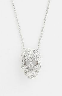 Nadri Skull Pendant Necklace ( Exclusive)