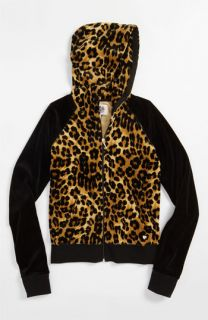 Juicy Couture Leopard Print Hoodie (Little Girls & Big Girls)