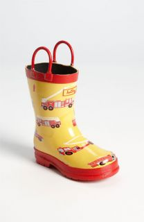 Hatley Fire Trucks Rain Boot (Walker, Toddler & Little Kid)
