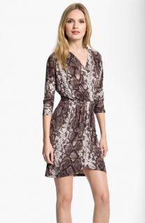 MICHAEL Michael Kors Faux Wrap Jersey Dress (Petite)