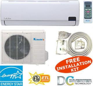 19 SEER Mini Split Air Conditioner Ductless AC Heat Pump Inverter