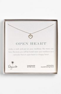 Dogeared Open Heart Pendant Necklace ( Exclusive)