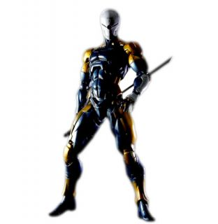 Metal Gear Solid Cyborg Ninja Gray Fox Play Arts Kai Action Figure