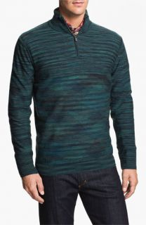 Bugatchi Uomo Merino Wool Quarter Zip Sweater