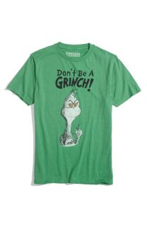 Topless Dont Be A Grinch Screenprint T Shirt