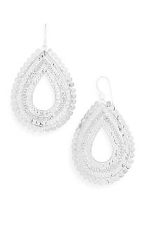 Anna Beck Flores Large Chain Open Drop Earrings