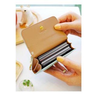 Card Case Holder Wallet_Donbook Crown Key Chain Purse Key Ring Wallet