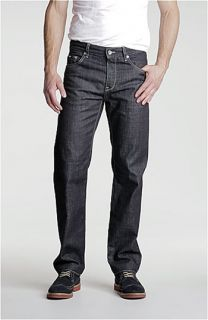 BOSS Black Maine Straight Leg Jeans (Dark Blue)