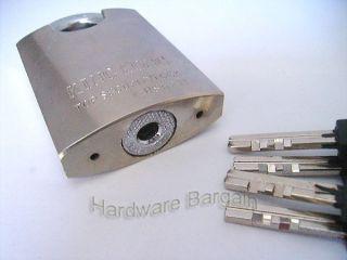 Top Security Door Lock Padlock Heavy Duty 40mm 4 Keys