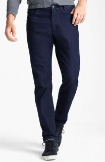Zegna Sport Cool Max Straight Leg Jeans (Dark Blue)