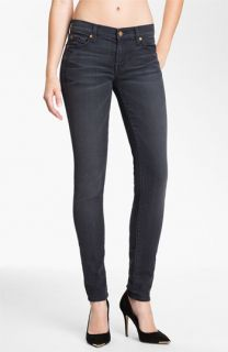 7 For All Mankind® Skinny Stretch Jeans (Dark Pebbled Cloud)