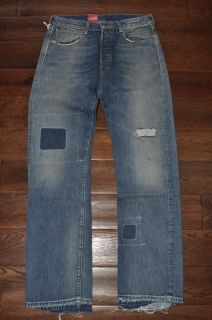 LVC Levis Vintage Clothing 1947 501 Clifford Rock Selvedge Big E Blue