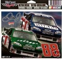 Dale Earnhardt Jr 88 Car Decal 5 x 6 Two Cars New