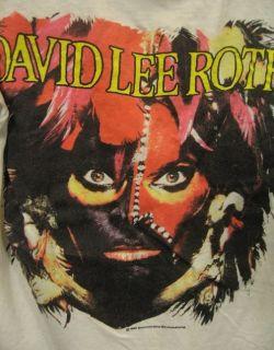 Vintage David Lee Roth 1986 World Tour T Shirt Screen Stars Medium