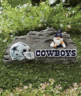 Dallas Cowboys NFL Gnome Garden Stone Football Fans Sports Yard Decor