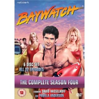 Complete Series 4 DVD New SEALED 6 Disks David Hasselhoff