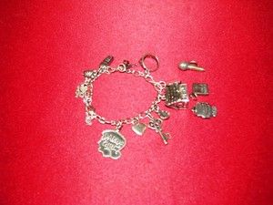 JAMES AVERY CHARM BRACELET WITH 14 AVERY CHARMS (SIZE MEDIUM)