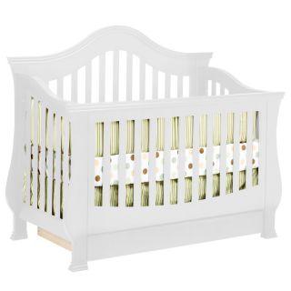 Davinci Emily 4 In 1 Crib With Toddler Rail Honey Oak Davinci