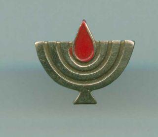 Original Israel Decoration State Warriors Badge Document Medal IDF WW2