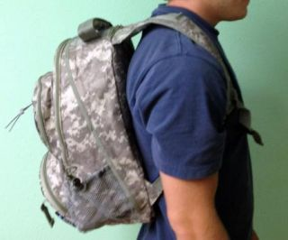 New Army Camouflage Water Resistant Heavy Duty Military Backpack