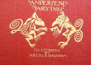 Arthur Rackham ANDERSENS FAIRY TALES 1st US MINT DJ + Pub Orig Box