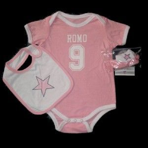 Dallas Cowboys Tony Romo Baby Onesie Jersey 18M