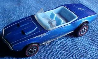 Wheels Redline Custom Firebird Car 6212 1 Blue HK Blue Interior