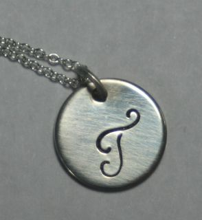 Personalized Sterling Silver Mommy Necklace/Pendant   Monogram Childs