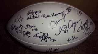 2011 Kansas State Wildcats Team Signed Football Proof 30 Sigs COA