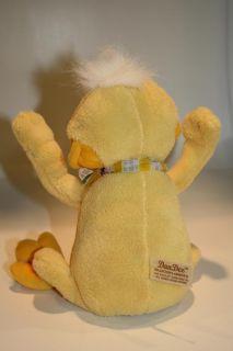 Dan Dee Plush Yellow Duck Voice Sings Moves Arm Head 8 DanDee Singing