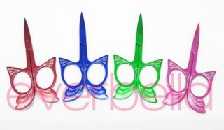 Butterfly Beauty Salon Manicure Nail Cuticle Scissors