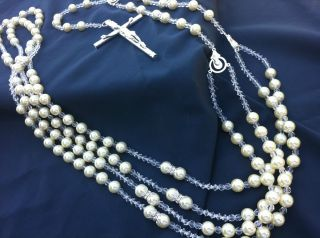 Crystal Pearls Wedding Lasso Lasso de Boda En Perlas