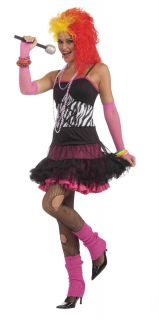 Cyndi Lauper 80s Dance Party Punk Rock Princess Fancy Dress Reversible
