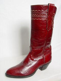 TONY MORA BANDERA Western Cowboy Boots SIGNED BY HERSCHEL WALKER