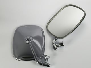 Volkswagen VW Bus Van STYLE Pair Chrome Door Mirror New LH/RH