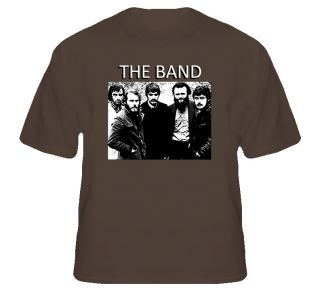 The Band Danko Robertson Helm Canadian Rock Legends T Shirt